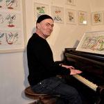 Oscar Holub, Künstler