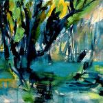 Landschaft, 50 x 70 cm