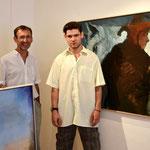 Max (li.) und Peter Holzapfel, beide Maler