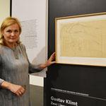 Elisabeth Nowak-Thaller, Lentos Kunstmuseum und wieder entdeckte Klimt-Zeichnung