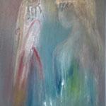 Timeless femininity, 60x80cm, oil on canvas
