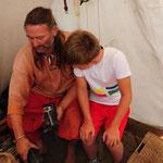 Joshua und Sven und der gegossene Thorshammer