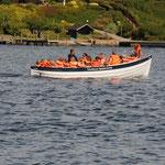 Die Pfadfinder vom Thurøbund auf großer Fahrt