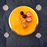 Käsekuchen med Citron