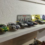 Die Fahrzeuge nach der Fahrzeugabnahme...