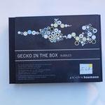Boîte de décoration Gecko, création Baumann