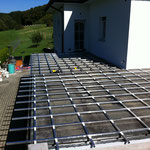 WPC Foliendach Terrasse