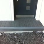 WPC Terasse Techboard Granit  Eingang