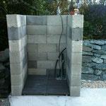 Gerätehütte Rohbau