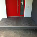 WPC Eingang Granit