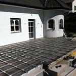 WPC Aluminium Unterkonstruktion