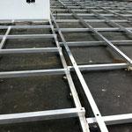WPC Aluminium Unterkonstruktion Detail Verschraubung
