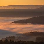 Nebelstimmung bei Dahn