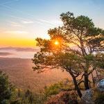 Sonnenaufgang am Schlüsselfelsen