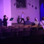 Magnuskirche: Butohtanz und Flöte