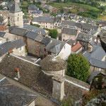 Sévérac-le-Château vu du... château.