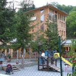 L'hôtel à Cesana.