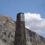Le sommet de l'Izoard.