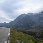 Dans le col du mont Cenis.