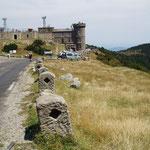 Le sommet du Mont Aigoual.
