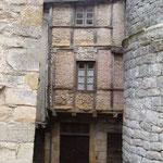 Une vieille maison de Sévérac-la-Château.