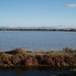 L'étang de Giens.