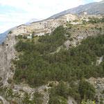 Le fort d'Arvieux. Imposant !