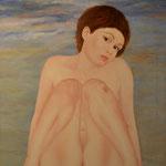 Camille, Öl auf Leinwand, 60x65 cm.