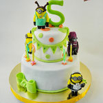 Торт миньоны-2