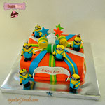 Торт миньоны-4