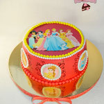 Торт Принцессы(картинка)