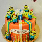 Торт миньоны-3