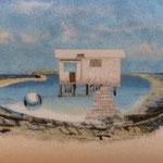 Jardin de la mer - La ferme - 60 x 25 - À VENDRE