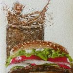 Les plaisirs de la bouche - Hamburger - VENDU