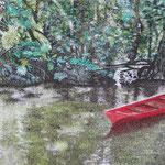 En rouge et vert - Vaipoiri - 45 x 29 - À VENDRE