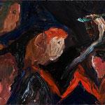 「デカメロン」2013年 油彩 キャンバス 25×33.5cm