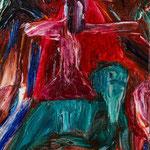 「chariot」2013年 油彩 キャンバス 16×23cm