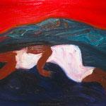 「一番大きくて美しい人」2011年 油彩 キャンバス 91.7x117cm 個人蔵