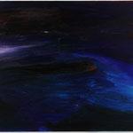「海みずから泳ぐ海」 2012年 油彩 キャンバス 162.5x227.5cm 撮影:木奥恵三