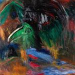 鳥に似た郷士の肖像 2018年 147x112cm 油彩 キャンバス