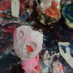 「かわいい血、かわいい土地」展 2013 Gallery HAM にて