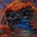 ブギーマン3 2017年 45x52cm 油彩 キャンバス