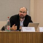 Nicolas Vercken, OXFAM, au Ministère des Affaires Etrangères avec Webassoc