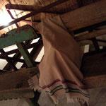 やまなしネクタイ フェア@VACANT ベンチの雰囲気がステキです