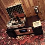 やまなしネクタイ フェア@VACANT 山崎さんのウッドコアスピーカー搭載オーディオ♪
