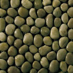Olive Green Pebbles