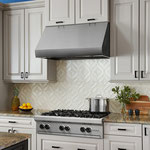 Keep it classy with a bright white backsplash!