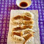 Chicken / vegetable gyoza (dumpling)