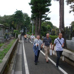 染井霊園散策