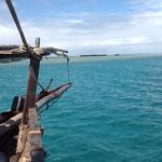 прогулка на лодке на Диани